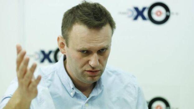 El activista y líder opositor ruso Alexéi Navalni. (EFE/Sergei Ilnitsky/Archivo)