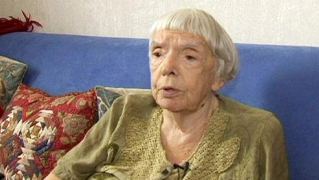 La activista rusa Lyudmila Alexéyeva. (Euronews)