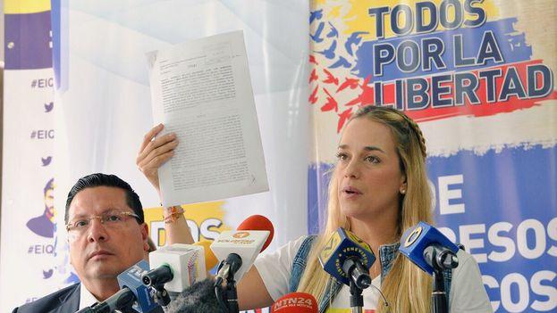 Lilian Tintori, activista venezolana por los derechos humanos (@liliantintori)