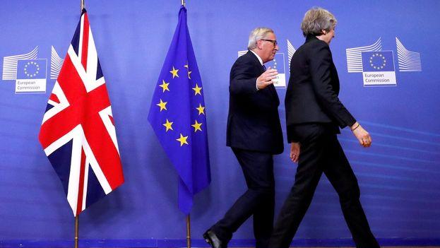 La cumbre sobre el acuerdo del 'brexit' se celebra este fin de semana en Bruselas. (EFE)
