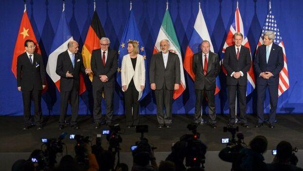 El acuerdo nuclear se firmó en 2015 tras largas negociaciones. (EFE)