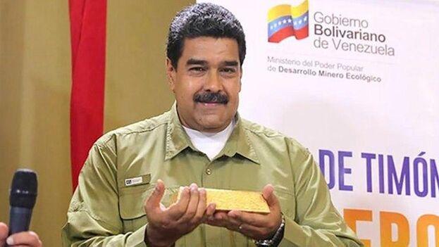 Las acusaciones a Maduro como presunto responsable de crímenes de lesa humanidad podrían favorecer a Guaidó en este caso judicial. (EFE)
