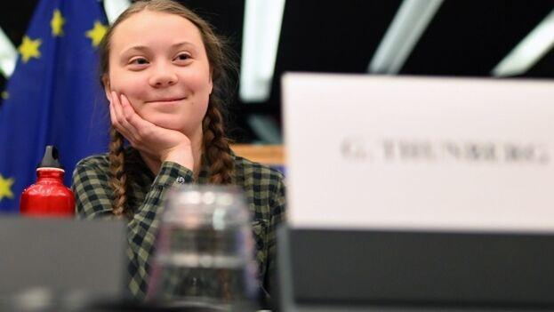 La adolescente sueca, Greta Thunberg, es la nueva adalid de la lucha contra el cambio climático. (EFE)