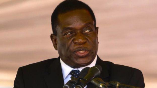 Según ha afirmado Mnangagwa, su exilio en el país vecino se debió a que, tan solo dos horas después de ser cesado, fue informado de que existían planes para acabar con su vida. (Captura)