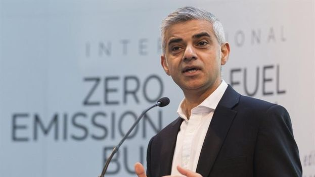 El alcalde de Londres, Sadiq Khanm. (EFE/Archivo)