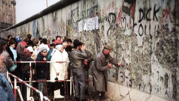 Alemania Recuerda El 29 Aniversario De La Caída Del Muro De Berlín 14ymedio