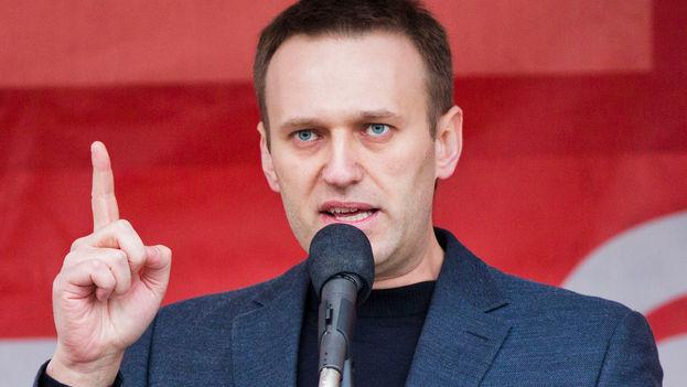 El opositor ruso Alexéi Navalni fue detenido en las manifestaciones contra la corrupción convocadas el pasado domingo. (wikimedia)