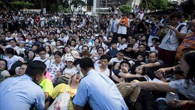En años anteriores habían ocurrido protestas en el sur de China en torno a la construcción de esta planta incineradora. (D.R.)