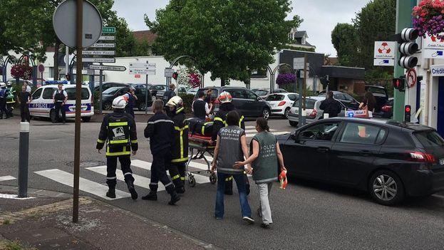 La sección antiterrorista de la Fiscalía de París asumió la investigación de la toma de rehenes. (Twitter)