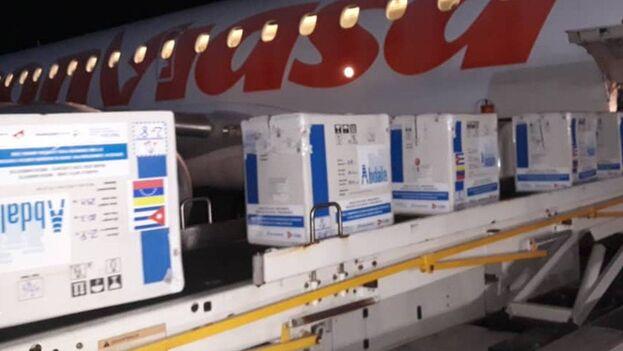 La llegada de la vacuna cubana fue anunciada por el propio presidente, que agradeció a Díaz-Canel la cooperación. (captura)