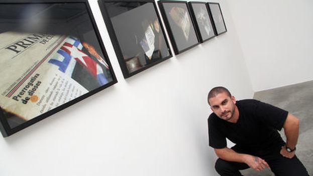 El artista cubano, Jesús Hernández-Güero. (Cortesía)