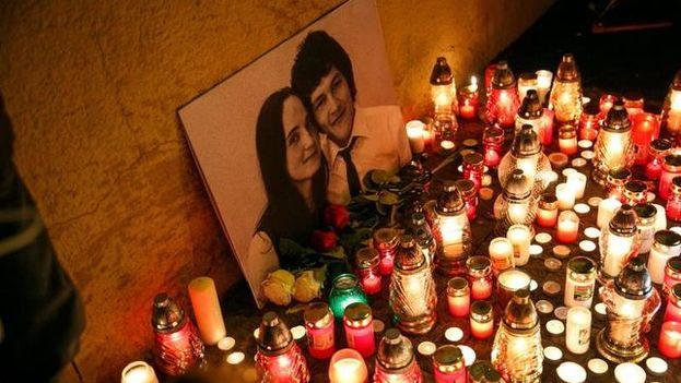 El asesinato de Jan Kuciak ha causado un terremoto político que se ha cobrado este miércoles la dimisión de un ministro. (EFE)
