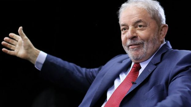 """Las autoridades investigan si Lula recibió """"favores"""" cuando estaba en el poder por constructoras implicadas en el escándalo de Petrobras. (@inst_lula)"""