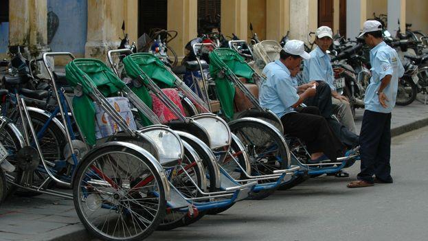 Las autoridades han decidido perseguir este medio de transporte prototípico de Vietnam. (ClubMarcoPolo)