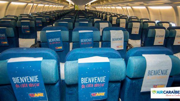 Un avión de Air Caraïbes. (Facebook)
