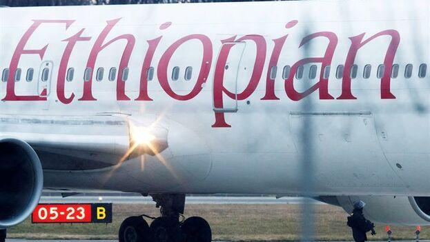 Un avión de la aerolínea Ethiopian Airlines. (EFE)