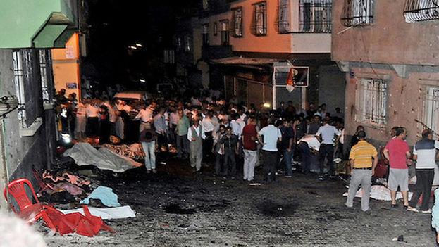 Mueren más de 50 en ataque a boda — Turquía