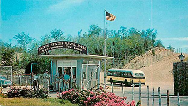 La base naval de Guantánamo.