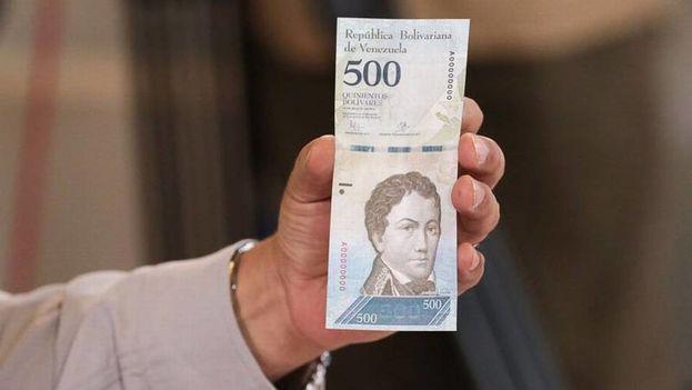 El nuevo billete de 500 bolívares llegará este domingo al país, dice Maduro. (Globovisión)