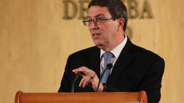 El canciller cubano, Bruno Rodríguez Parrilla. (EFE)