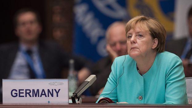 La canciller alemana, Angela Merkel. (EFE)