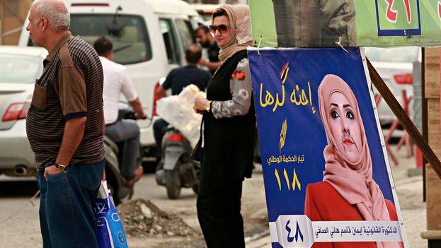 Las candidatas iraquíes se enfrentan a ataques de los más extremistas. (EFE)