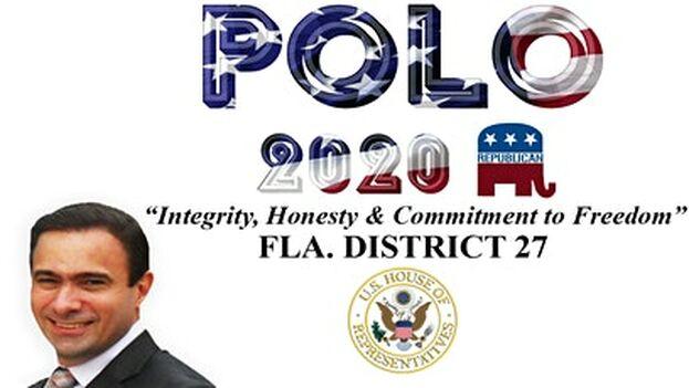 El candidato al distrito 27 del partido republicano dejó su Cuba natal en una balsa.