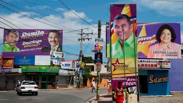 Los candidatos a las elecciones en la República Dominicana. (EFE)