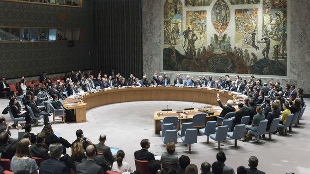 Los castigos son los más severos impuestos por la ONU en 20 años. (UN Photo/Mark Garten)