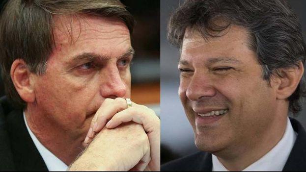 La segunda vuelta, que se celebrará previsiblemente entre Haddad y Bolsonaro, estará más centrada en el voto en contra que en el favorable.