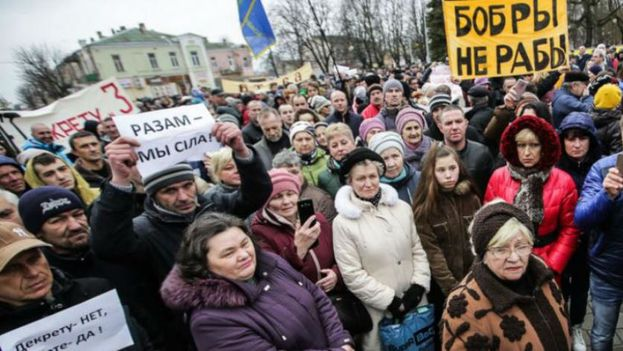 Se reporta más de un centenar de manifestantes detenidos en Bielorrusia. (CC)
