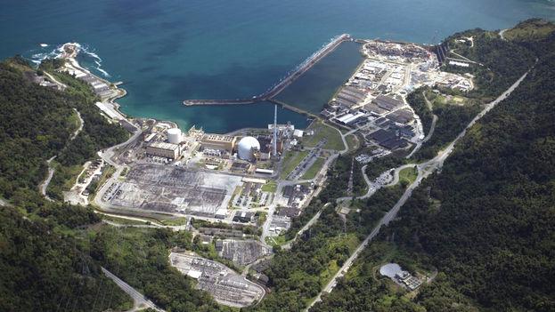 La central nuclear Angra dos Reis. (Eletrobras)