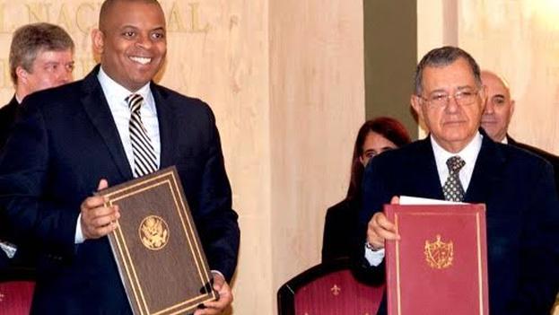 El acuerdo permitirá conectar los dos países con vuelos directos por primera vez en más de cincuenta años. (Embajada de EE UU en La Habana)