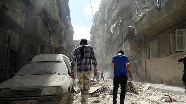 La ciudad de Alepo, en Siria ha sido una de las más castigadas por la guerra. (EFE)