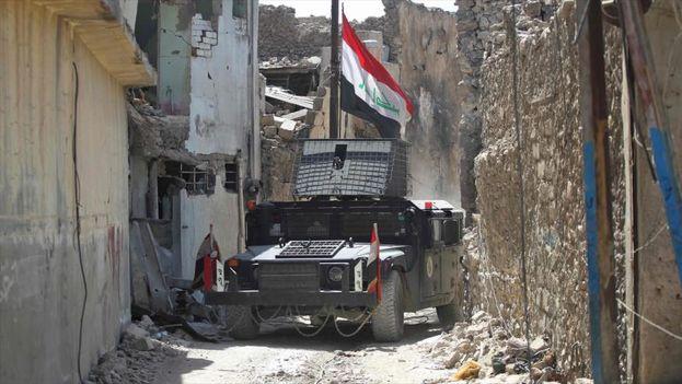 El 50% de áreas de la ciudad vieja de Mosul ha sido liberado. (@arabiawa)