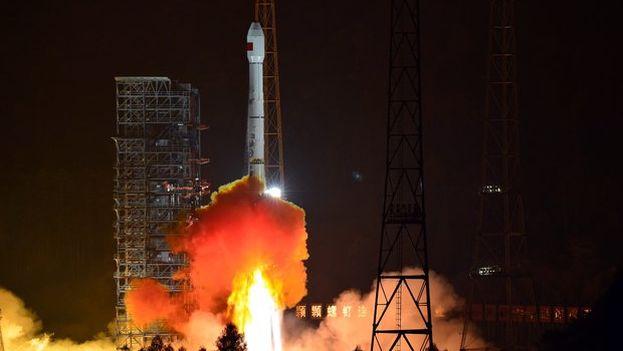 Un cohete del programa espacial chino. (EFE)