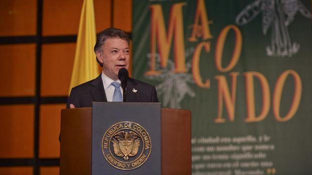 El presidente colombiano, Juan Manuel Santos. (Facebook)