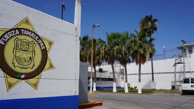 La comisaría de Reynosa, donde Norma pasó tres años. (Foto del autor)