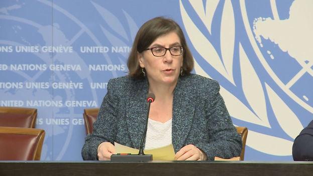"""Según la portavoz del alto comisionado, Liz Throsell, se trata de algo """"contrario a la ley internacional de derechos humanos, particularmente con respecto al debido proceso y a la garantías"""". (un.org)"""