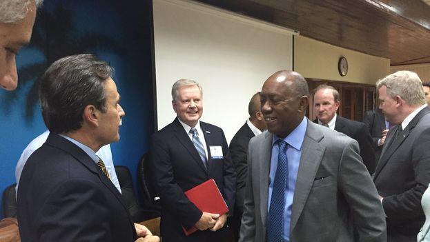La agenda de la comitiva liderada por el alcalde de Houston incluye reuniones con varios ministros cubanos. (@SylvesterTurner)