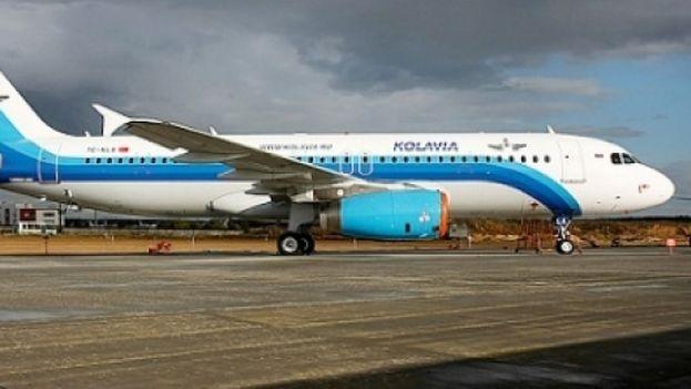 Un avión de la compañía aérea KogalimAvia (Foto de archivo)