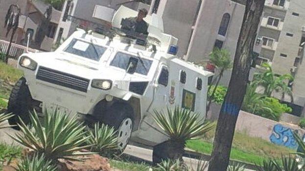 """La oposición considera que el Gobierno ha convertido Margarita en una """"zona de guerra"""". (@unidadvenezuela)"""