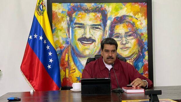 """""""Todo lo que se conversó ahí, eso va a continuar, con el diálogo, la democracia y al libertad"""", dijo Maduro. (NicolásMaduro)"""
