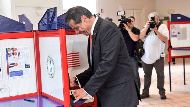 La continuidad de Cuomo se da casi por segura, puesto que este estado es un tradicional bastión demócrata. (@NYGovCuomo)