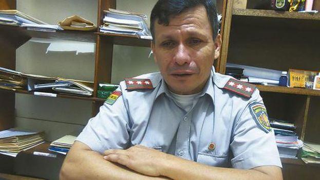 El coronel boliviano Germán Cardona