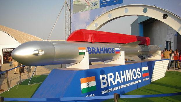 Los misiles de crucero BrahMos, de fabricación rusa e india) son de los más veloces del mundo. (CC)