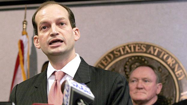 El abogado cubanoamericano y ex fiscal general de Miami, Alexander Acosta. (EFE)