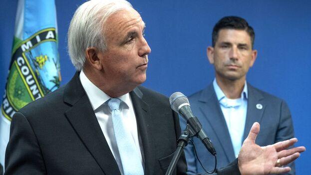 El congresista cubanoestadounidense Carlos Giménez. (EFE/Cristóbal Herrera/Archivo