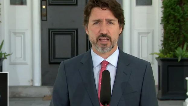 Las declaraciones de Trudeau se producen después de que tanto Trump como Pence se hayan negado a declarar si aceptarán una eventual derrota. (Captura)