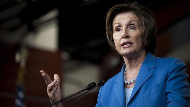 La líder de la minoría demócrata del Congreso, Nancy Pelosi. (EFE)